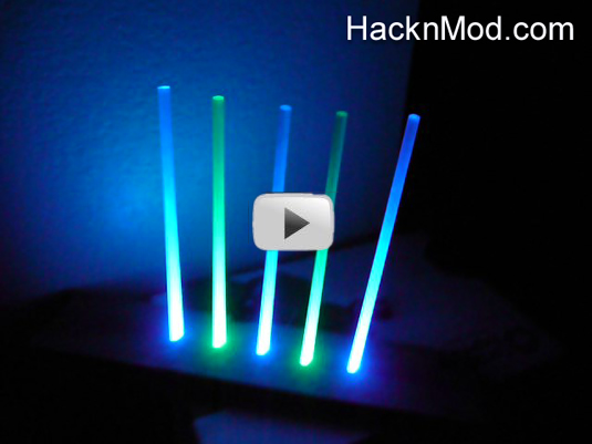 LED & Fiber Optic New Years Party - HacknMod.com