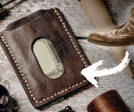 Leather Wallet From a Boot