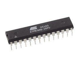 Standalone Atmega8-16pu With Arduino Optiboot Bootloader