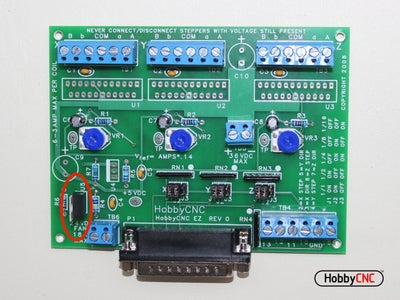 Install (1) LM317HV