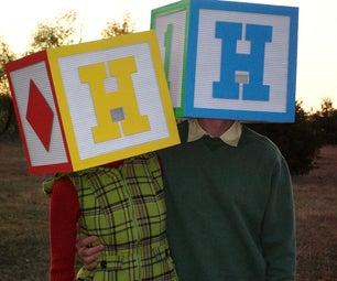 Block Head Costume