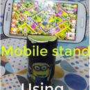 Mobile stand using Pepsi Tin