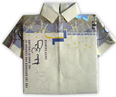 Money Origamy T-shirt