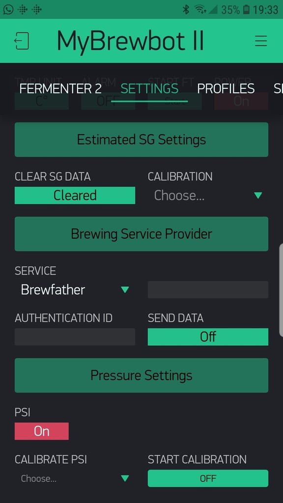Setting Up Brewing Software
