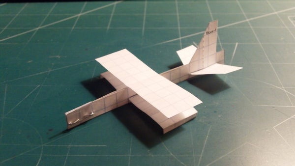 How to Make the Sparrow Paper Airplane