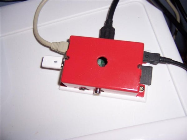 Raspberry PI Case With Built in Surface Mount for Less Than $2