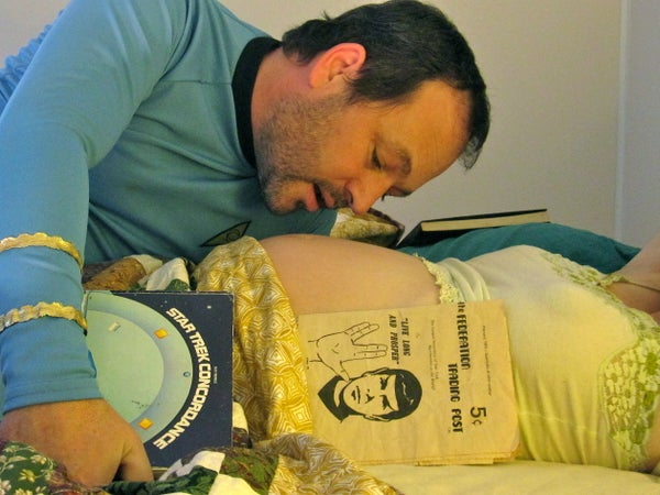 Teach Your Unborn Child About Star Trek