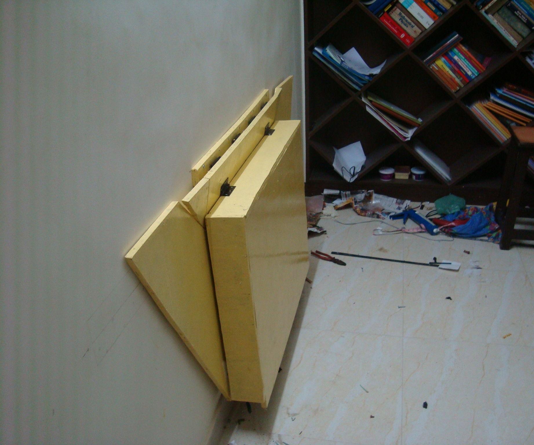 Zero-Space Flexible tool Storage Workstation - Portable or Wall mountable