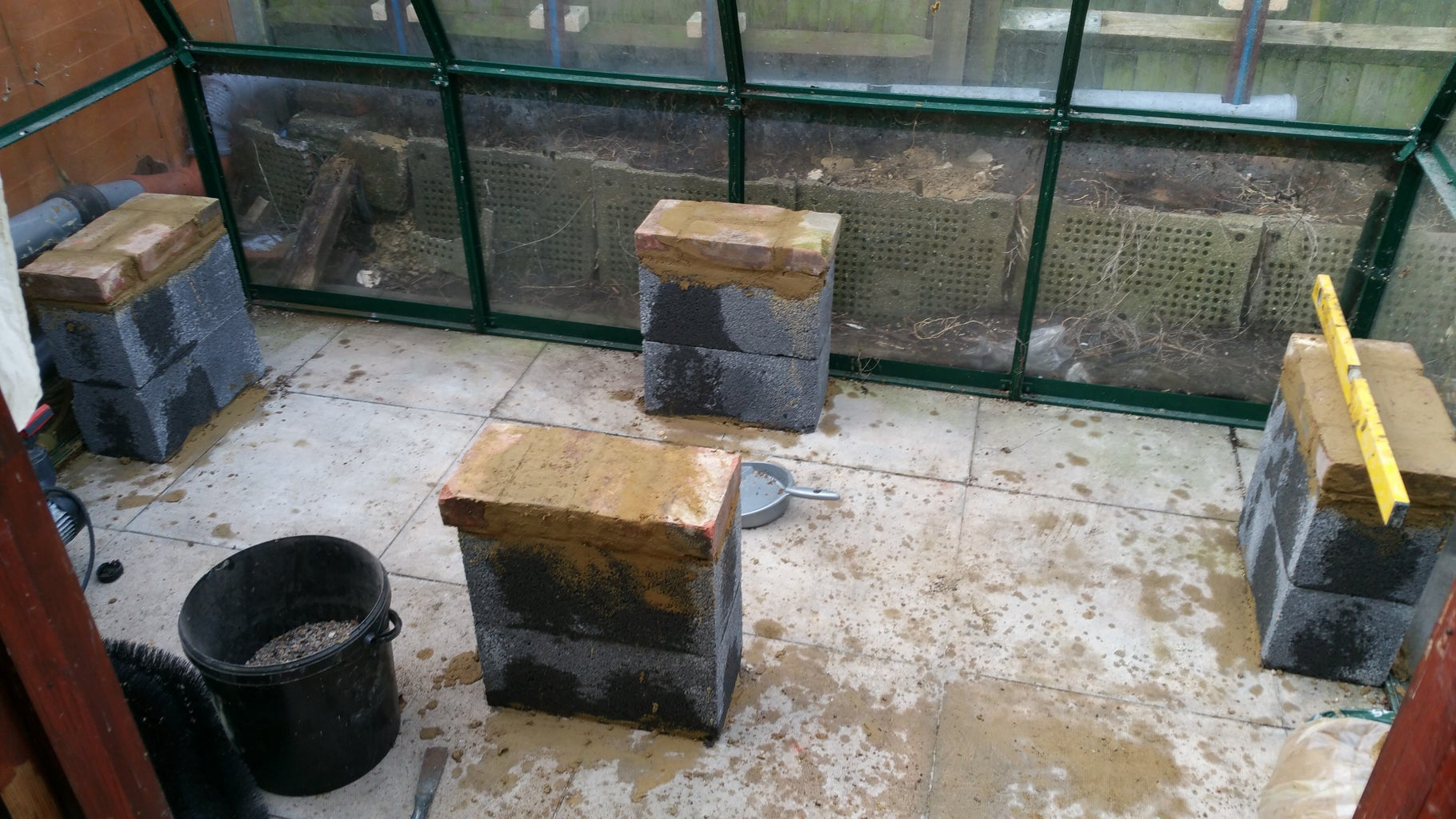 Building a Platform for the Grow Bed/s