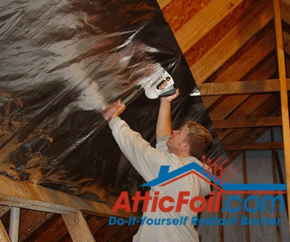 How to Install Radiant Barrier on Attic Rafters in 5 Steps