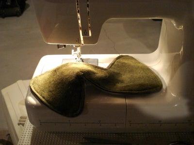 Sew on the Zipper