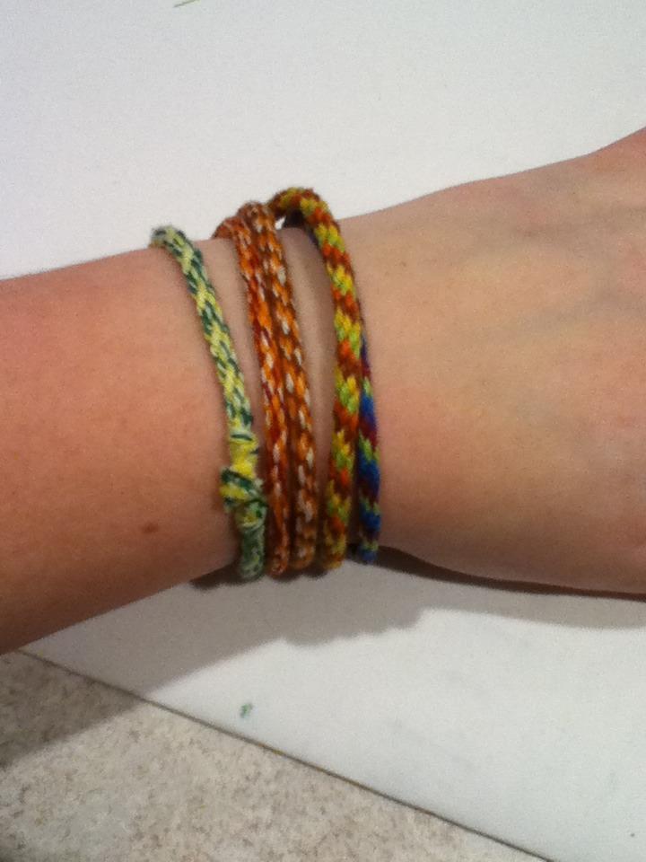 Friendship Wheel Bracelet