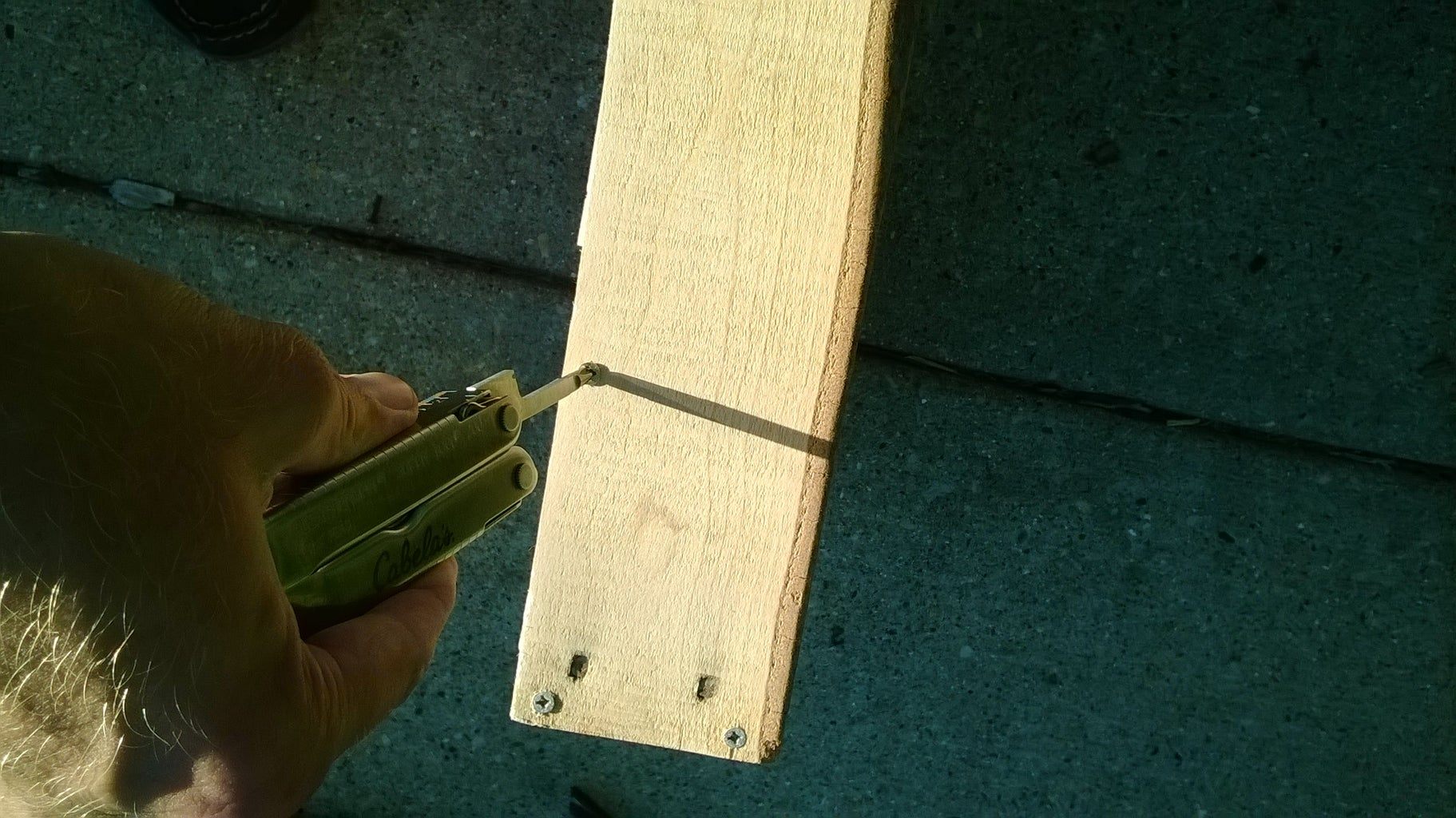 Assembling the Outer Frame