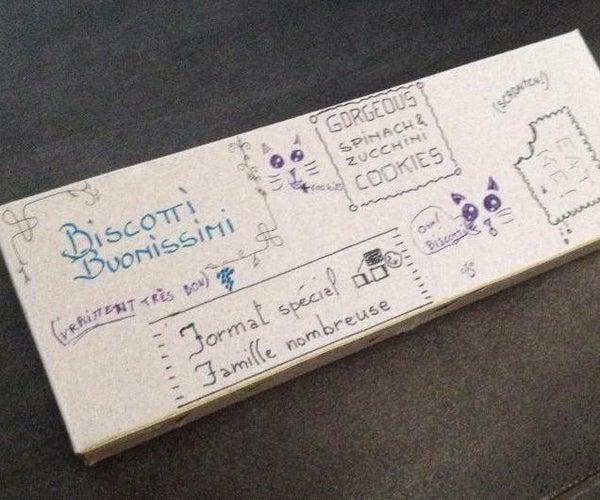 Custom-mod' Cookies Paper Box