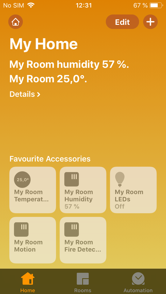 Add the Devices to Your Apple Home App