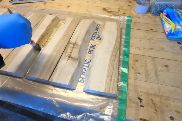 Mix Up a Little Bit of Epoxy to Seal the Edges