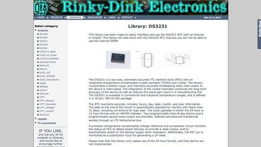 Setting the LCD Display & Clock