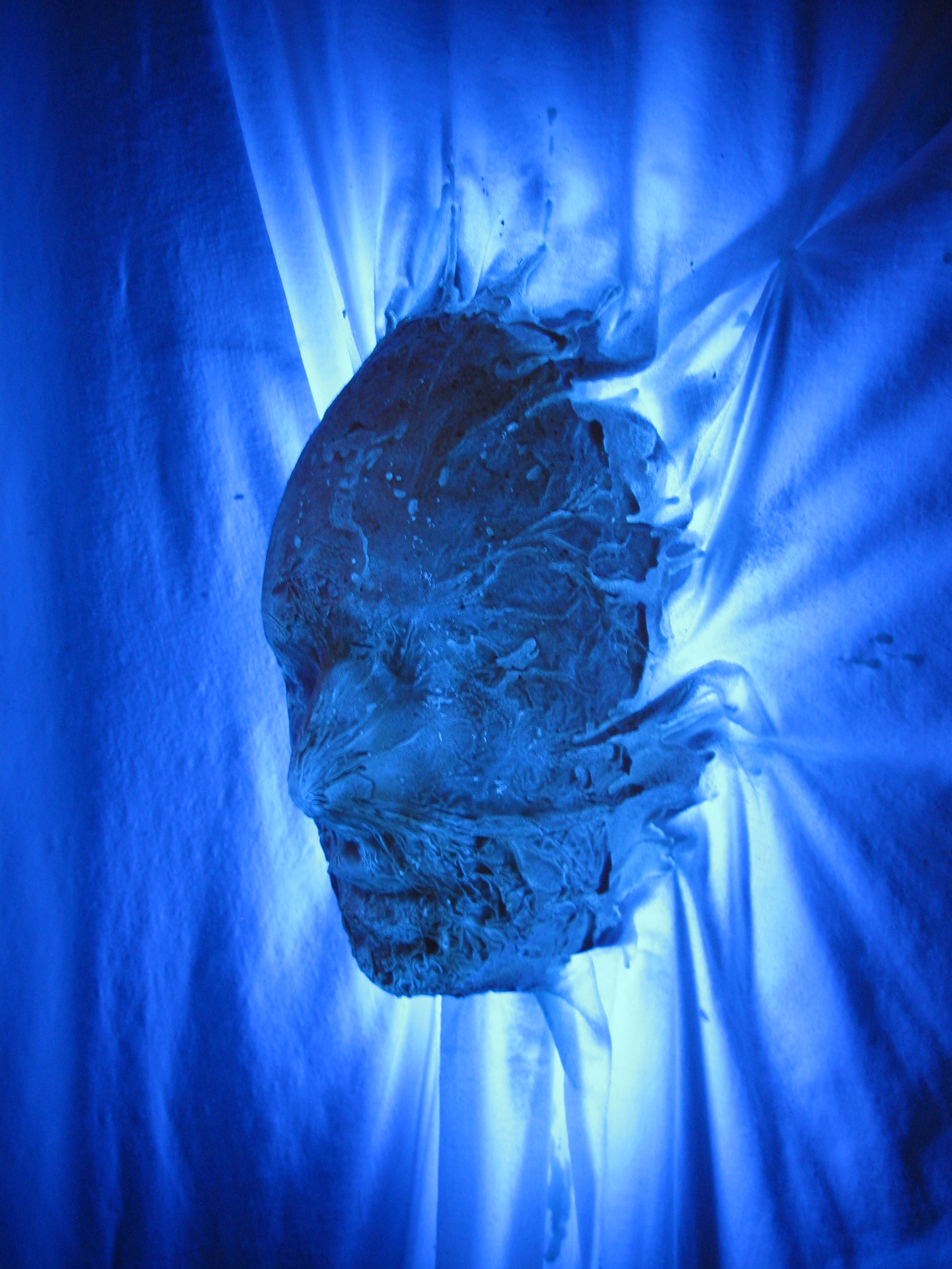 Spooky Polyester Resin Ghost prop