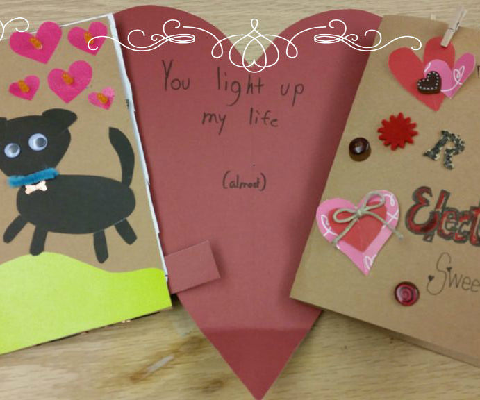 Paper Circuit Valentines Day Card