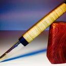 Stylish Pen Knife of upcycled bamboo