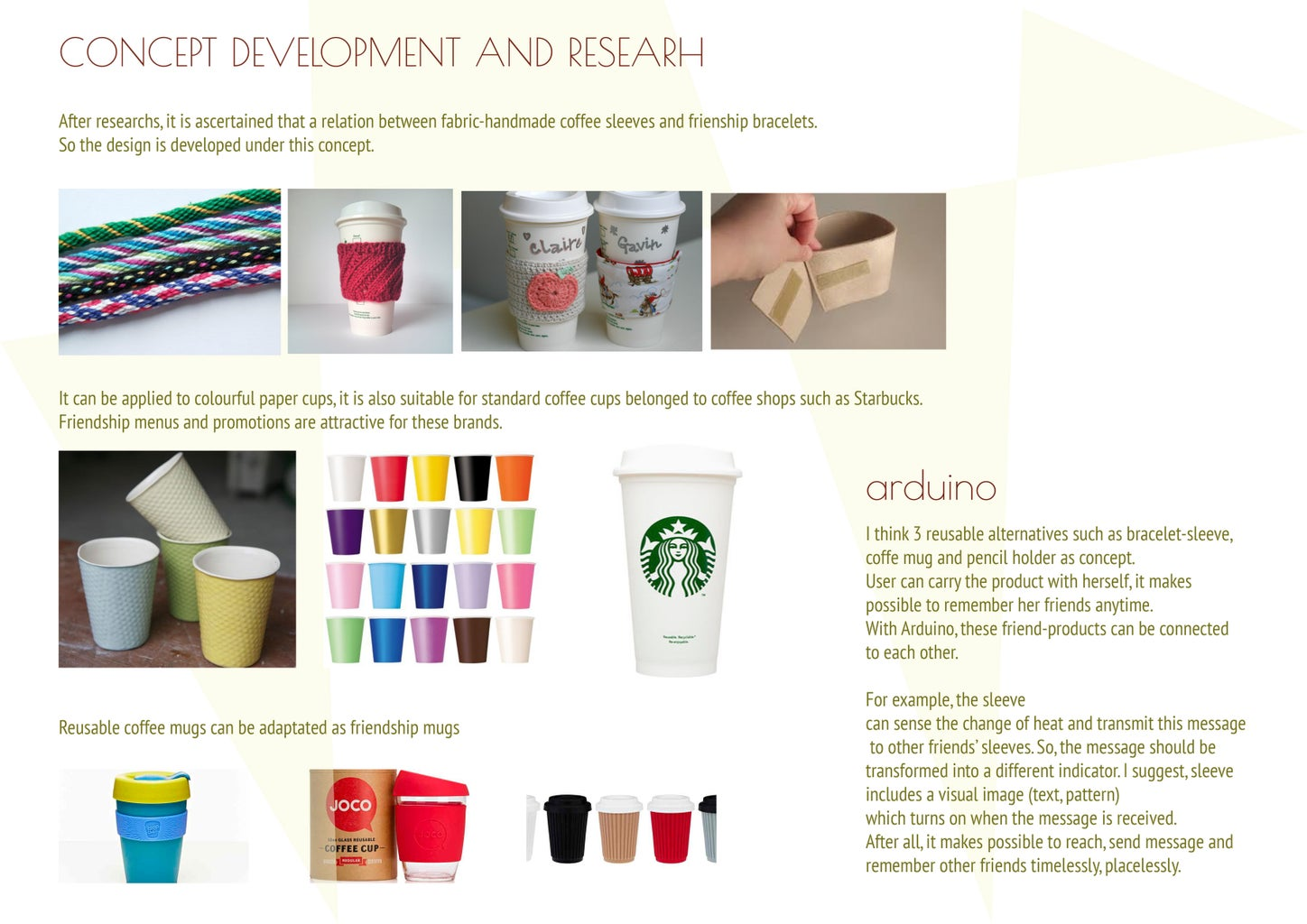 Research and Concept Development