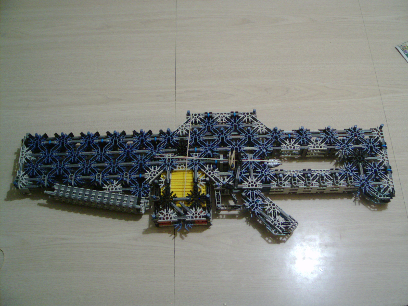 knex assault kit -scar 11.01 knex -assault knife