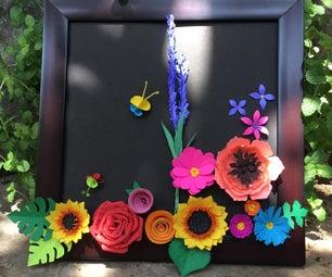 Paper Flower, Home Decor