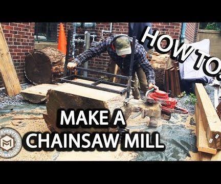 $25 Chainsaw Milling Attachement