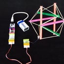 Steerable Vibrating Tensegrity Robot