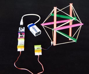 Steerable Vibrating Tensegrity Robot