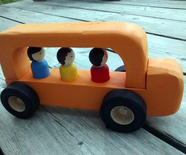 2x4 Off-end School Bus