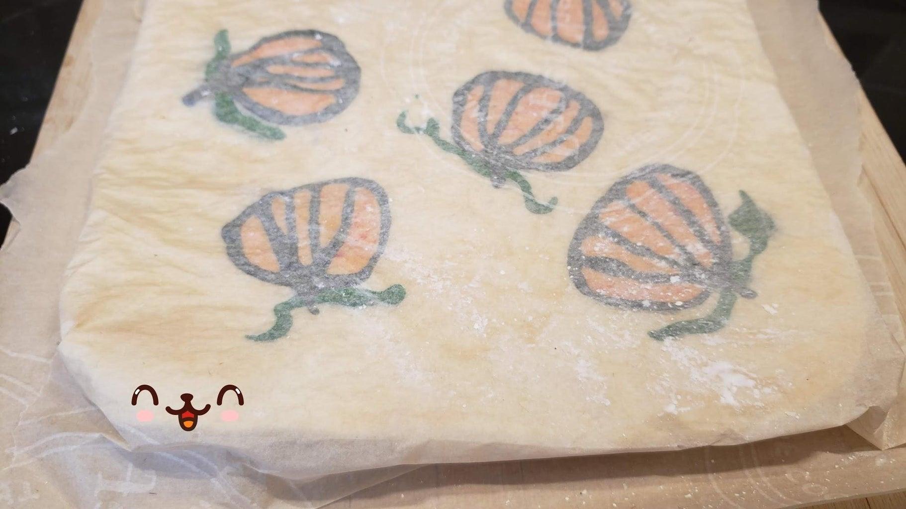 Baking Pumpkin Cake