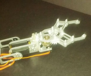 Robotics Claw Mounting Bracket