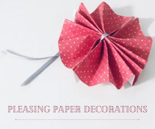 Pleasing Paper Decorations
