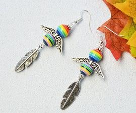 Beebeecraft Tutorials on Making Angel Earrings