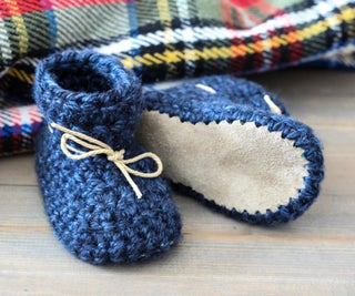 Leather Soled Toddler Slippers
