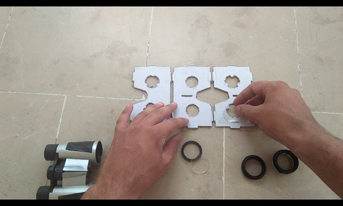 Attaching the Lenses and Putting It Together