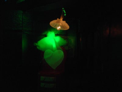 Flying Crank Pepper's Ghost