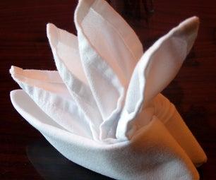 Folding Cloth Table Napkins