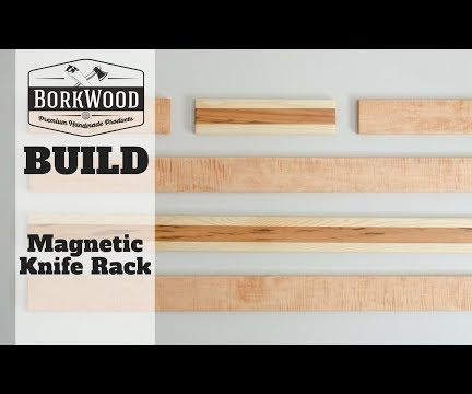 Magnetic Knife Rack   a DIY Tutorial