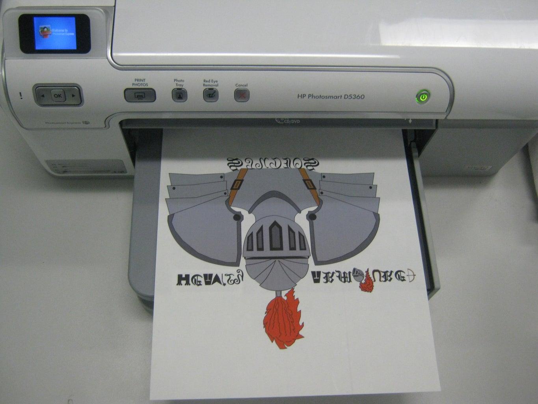 Printing the Legend