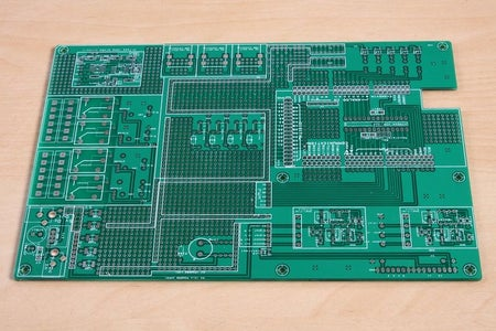 Electronics Parts List and Schematic