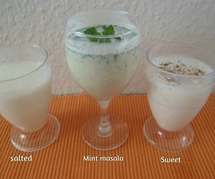 Lassi Variations(yoghurt drinks)