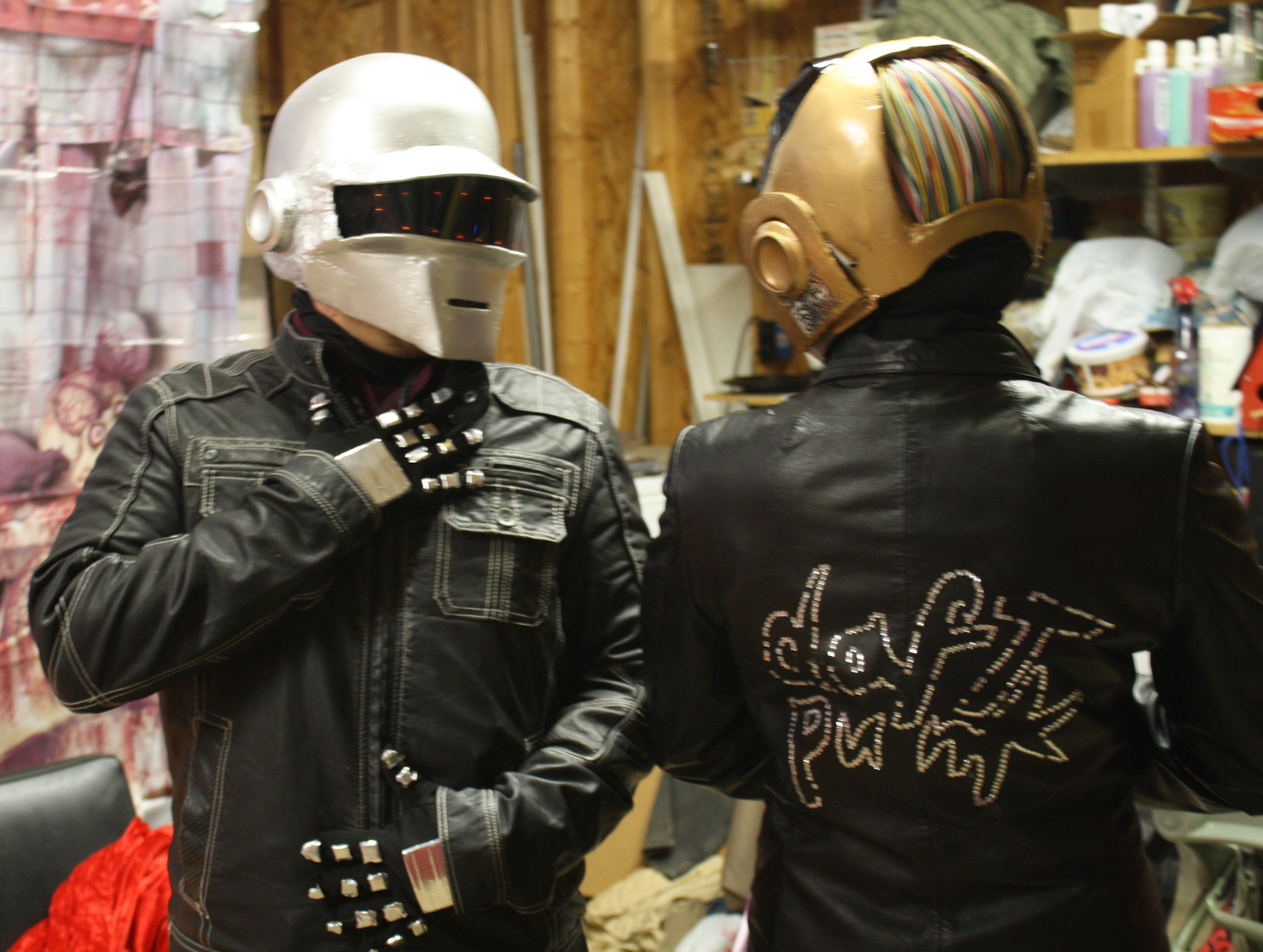 Daft Punk helmets and complete costumes withOUT using a vacu-form