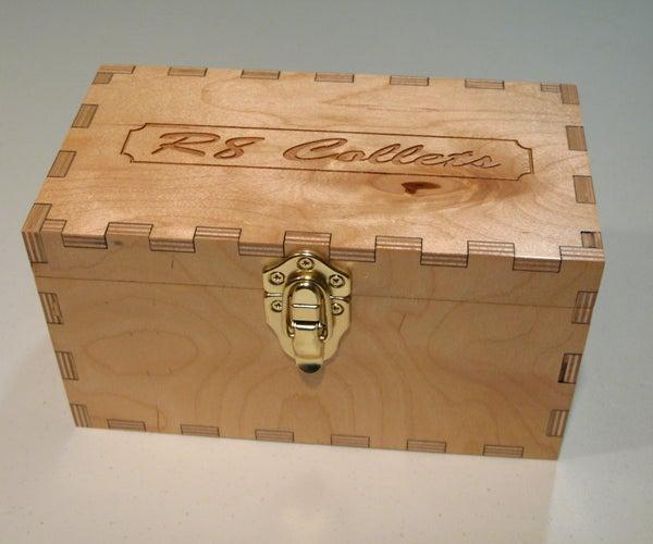 Build an R8 Collet Storage Box at TechShop