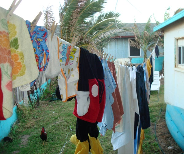 Pulley Clothesline