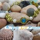 The Swirly Gold Wire Bracelet