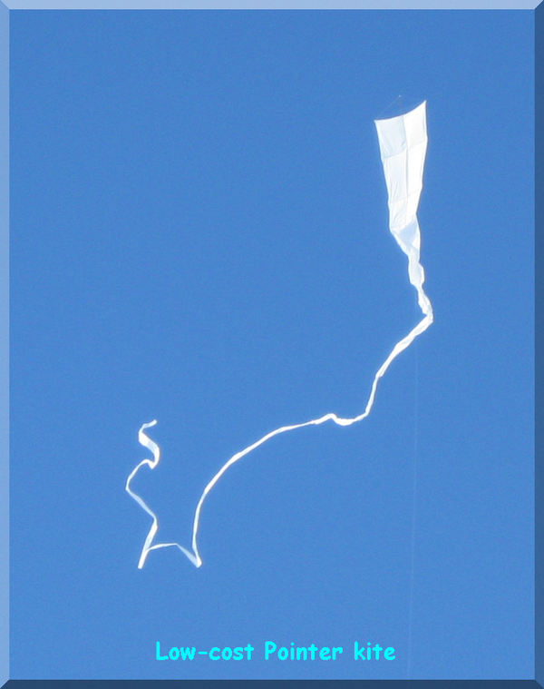 Building a Low-cost Pointer Kite