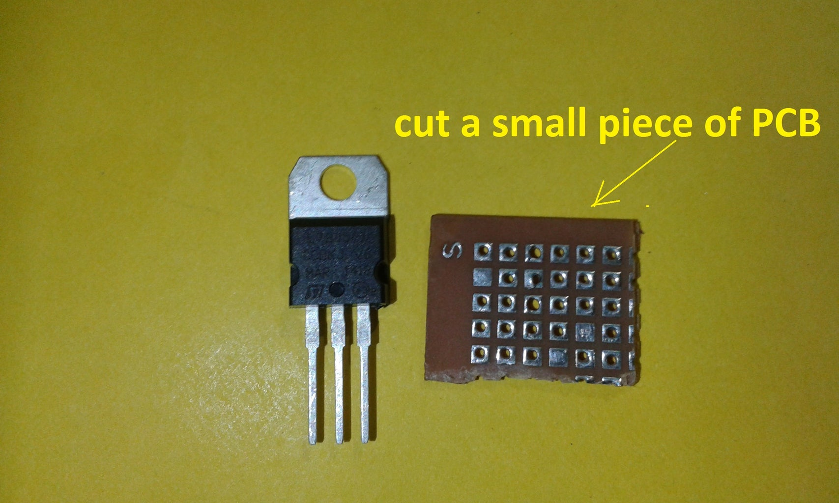 Cut the PCB and Solder the Components