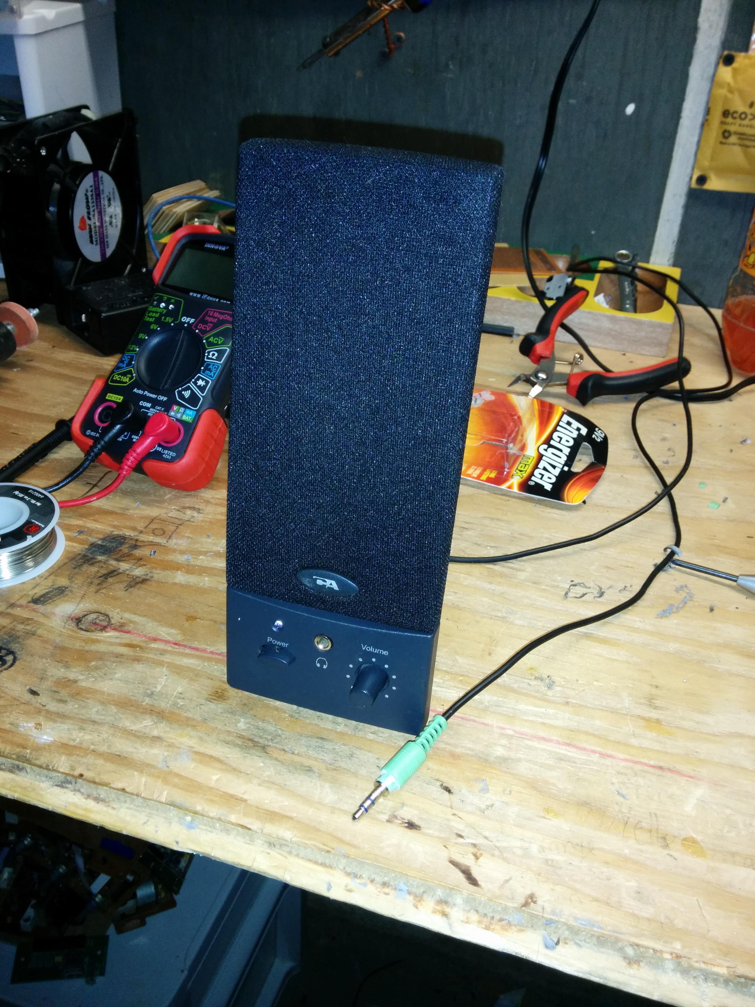 Portable Speaker!